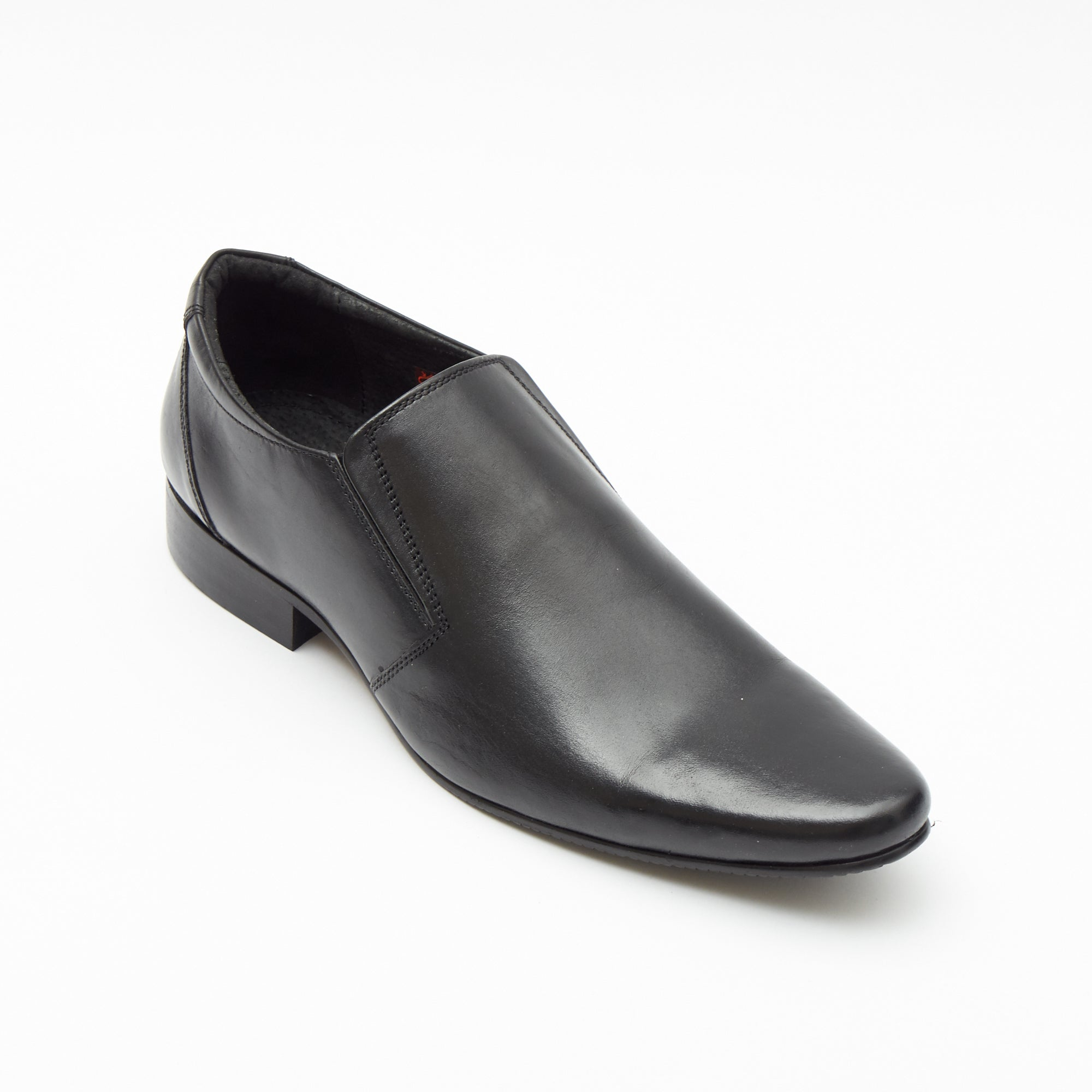 Mens Leather Casual Formal Shoes 50541_Black
