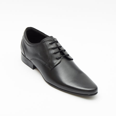 Mens Leather Formal Casual Shoes-50545_Black