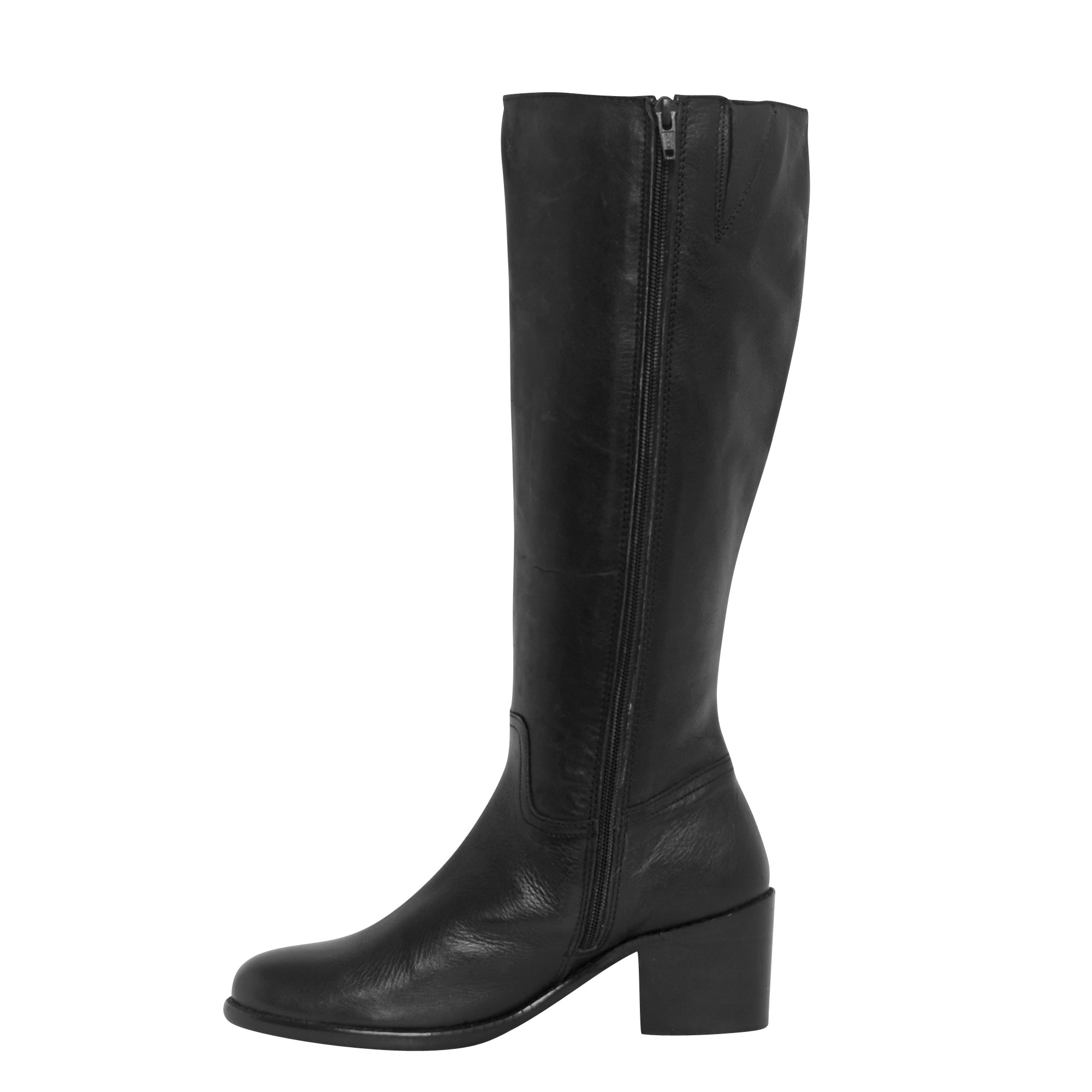 Ladies Long Boots - SF-184 Black