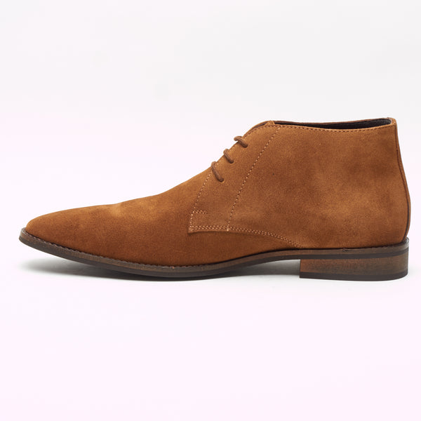 74ee445a60e51 Mens Suede Ankle Boots - SF-251-Suede Tan – Lucini Shoes