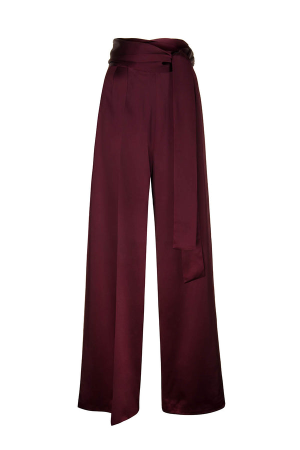Gutty trousers burgundy