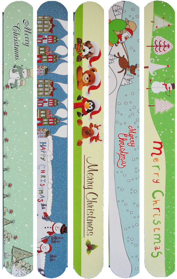ALIDA Christmas Nail Files