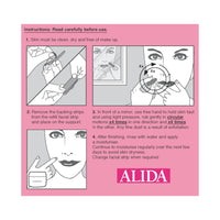 2 x Alida Facial Hair Remover (Multi Pack 2 applicators & 16 refill pads)