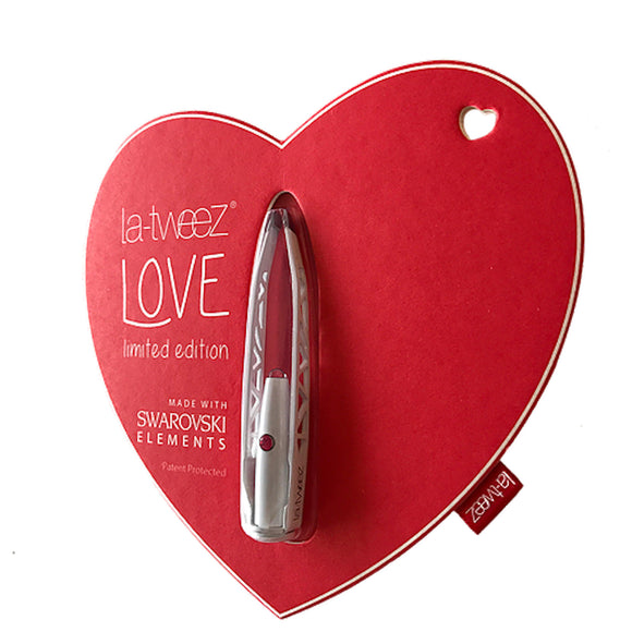 La-tweez Limited Edition WHITE on Love Heart