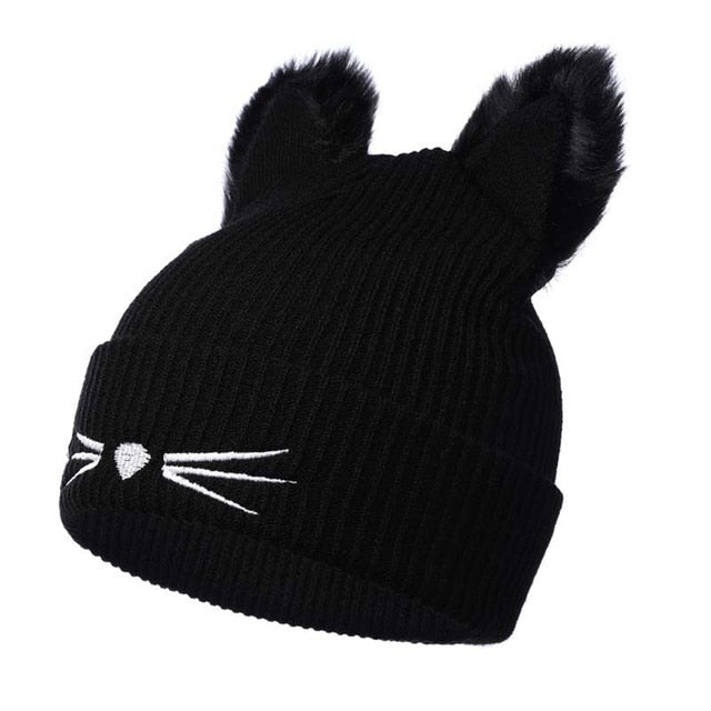 bd4caca3bc3 Cat Beanies for women - gearguruu