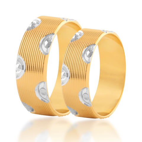 Signetry couple ring