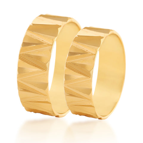 Transwing couple band ring