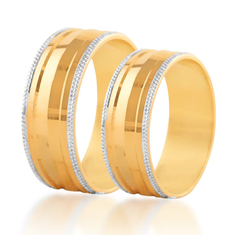 Mount couple band ring