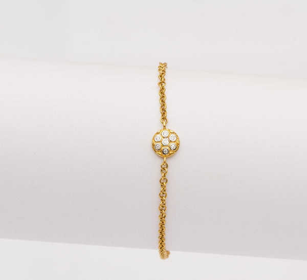 Simple Hexagon Bracelet