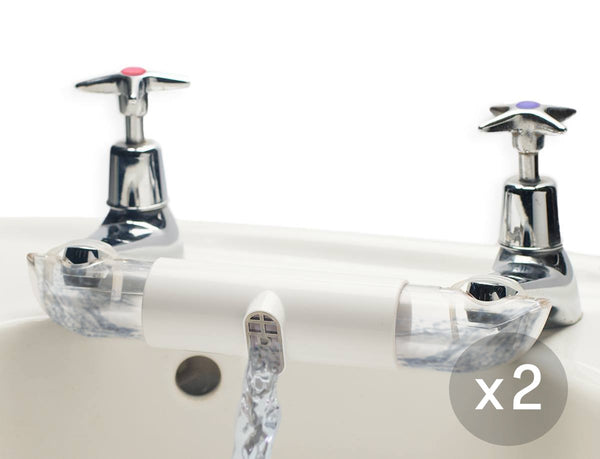 Twin Pack: 2 x RETROMIXER classic - Ceramic White