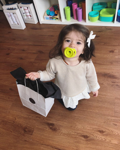 happy customer, shopping buddy, doddle pop pacifier