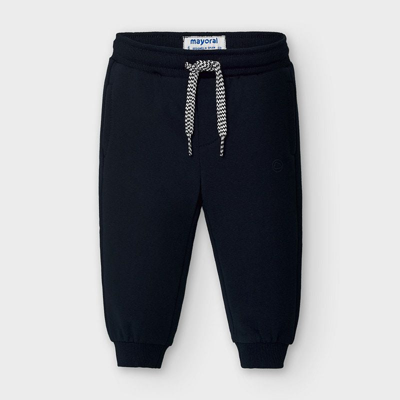 Basic Fleece Joggers - Navy
