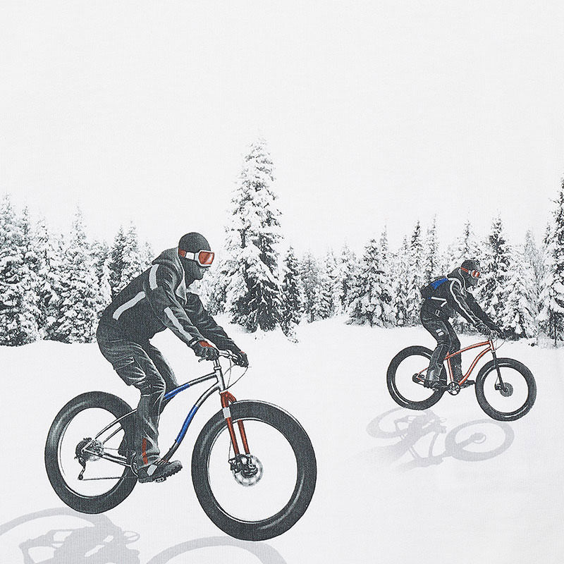 Winter Bike Graphic Tee