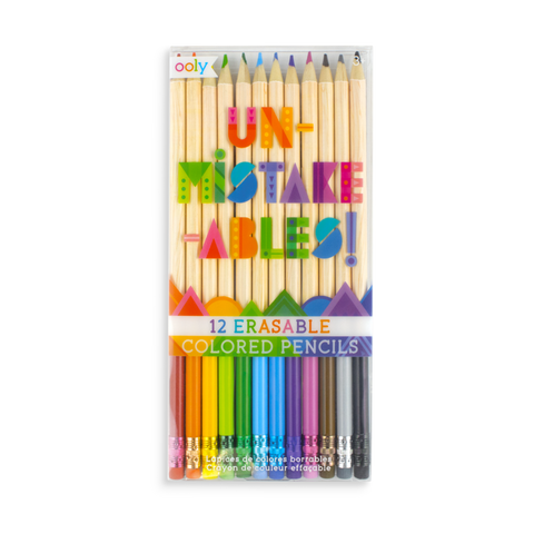 Un-Mistake-Ables! Erasable Colored Pencils