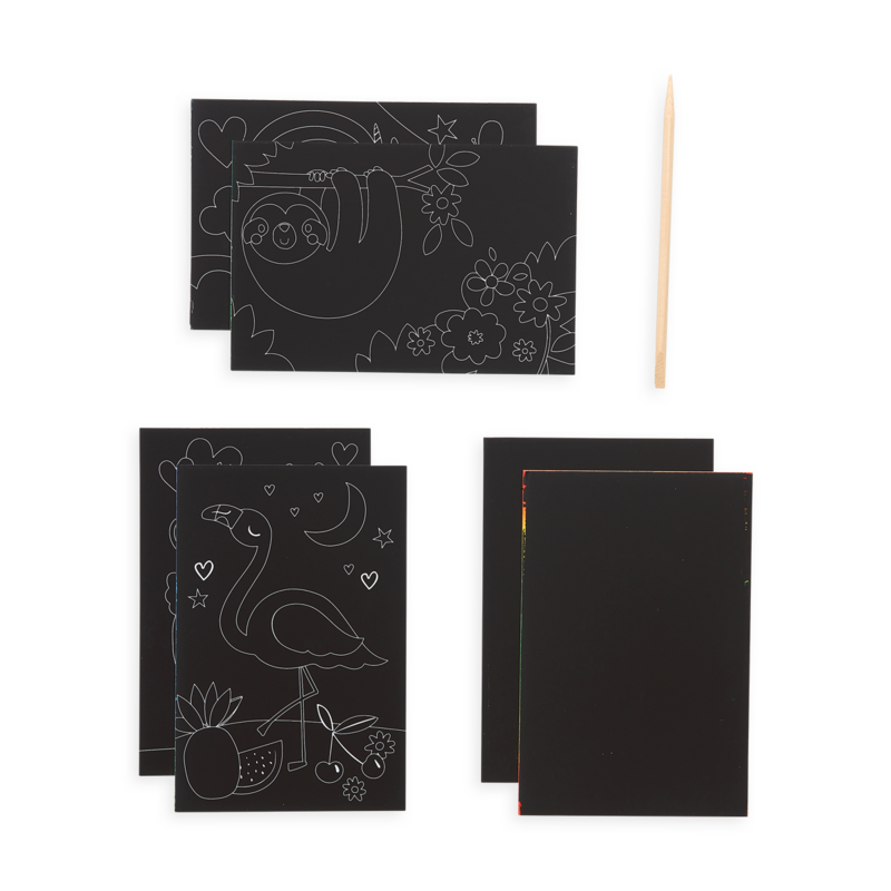 Mini Scratch & Scribble Art Kit