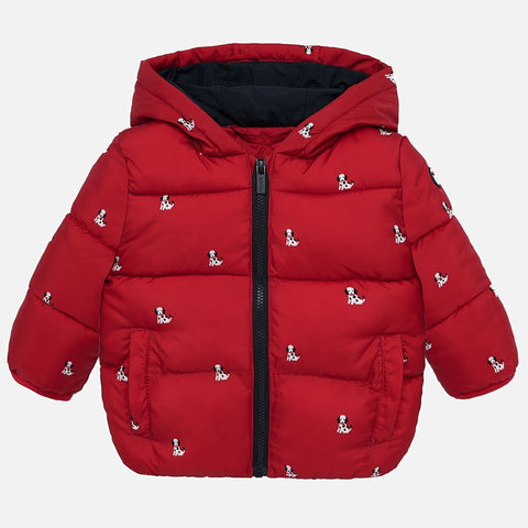 Fleece Lined Dalmatian Jacket