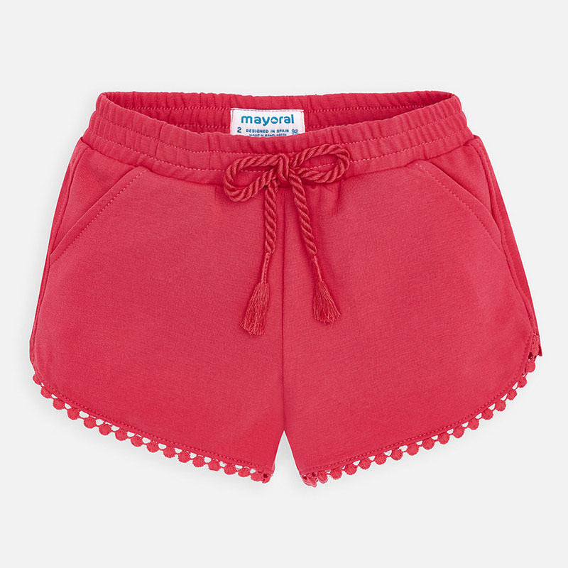 Knit Shorts - Watermelon