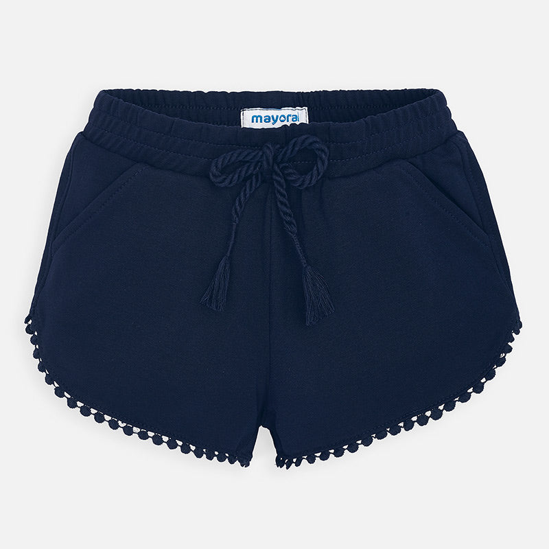 Knit Shorts - Navy