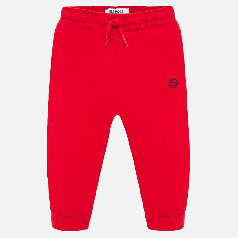 Fleece Joggers - Red