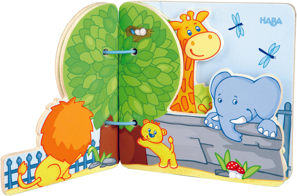 Zoo Friends Baby Book