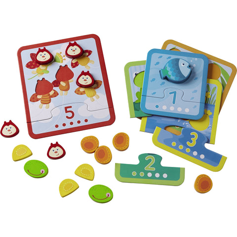 Animal Counting Matching Game