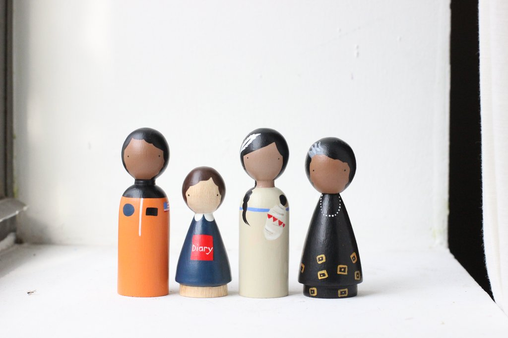 Peg Dolls - The Trailblazers II