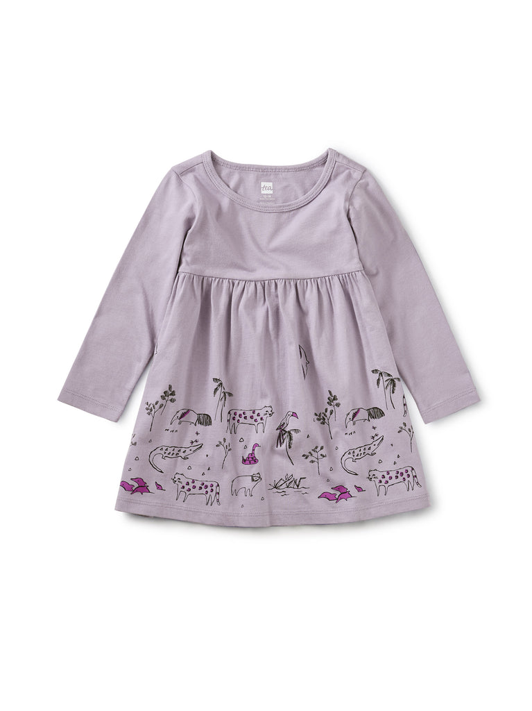 Amazonian Animals Baby Dress