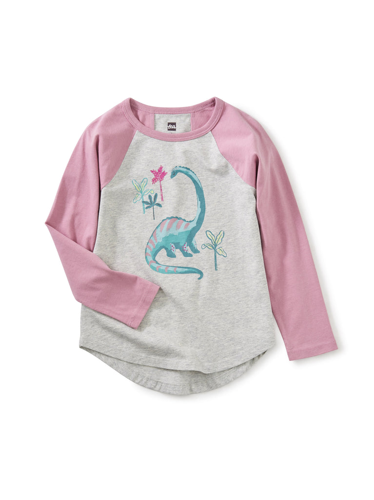 Raglan Graphic Tee - Dino Jungle