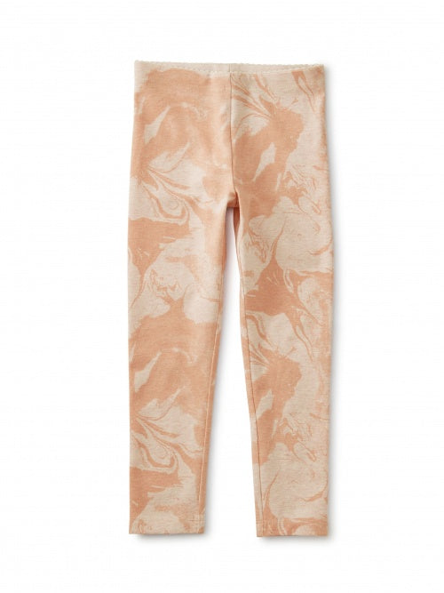 Marble Print Leggings