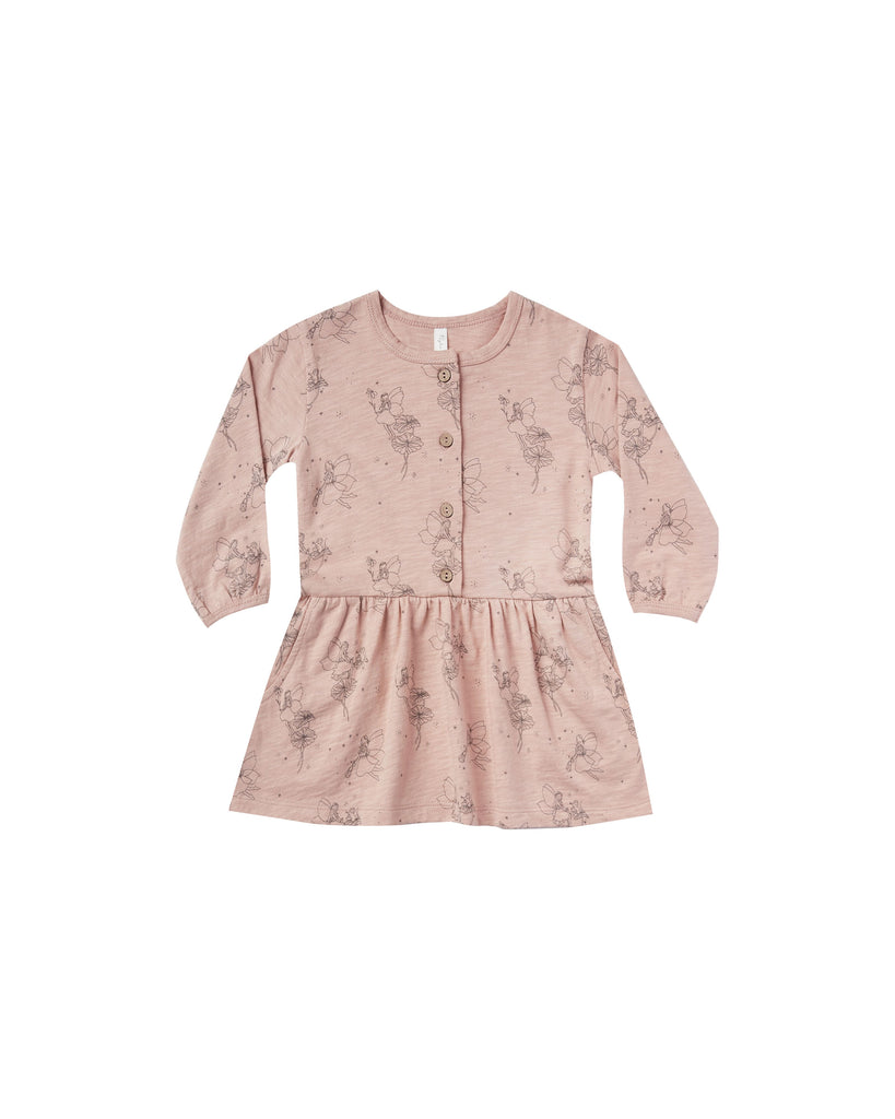 Rylee + Cru Button Up Dress - Fairy