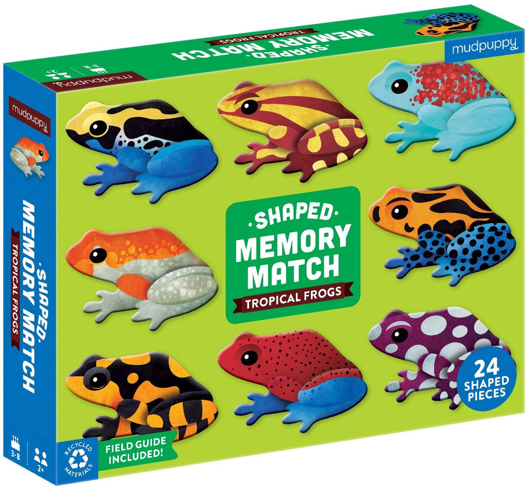 Memory Match - Tropical Frogs