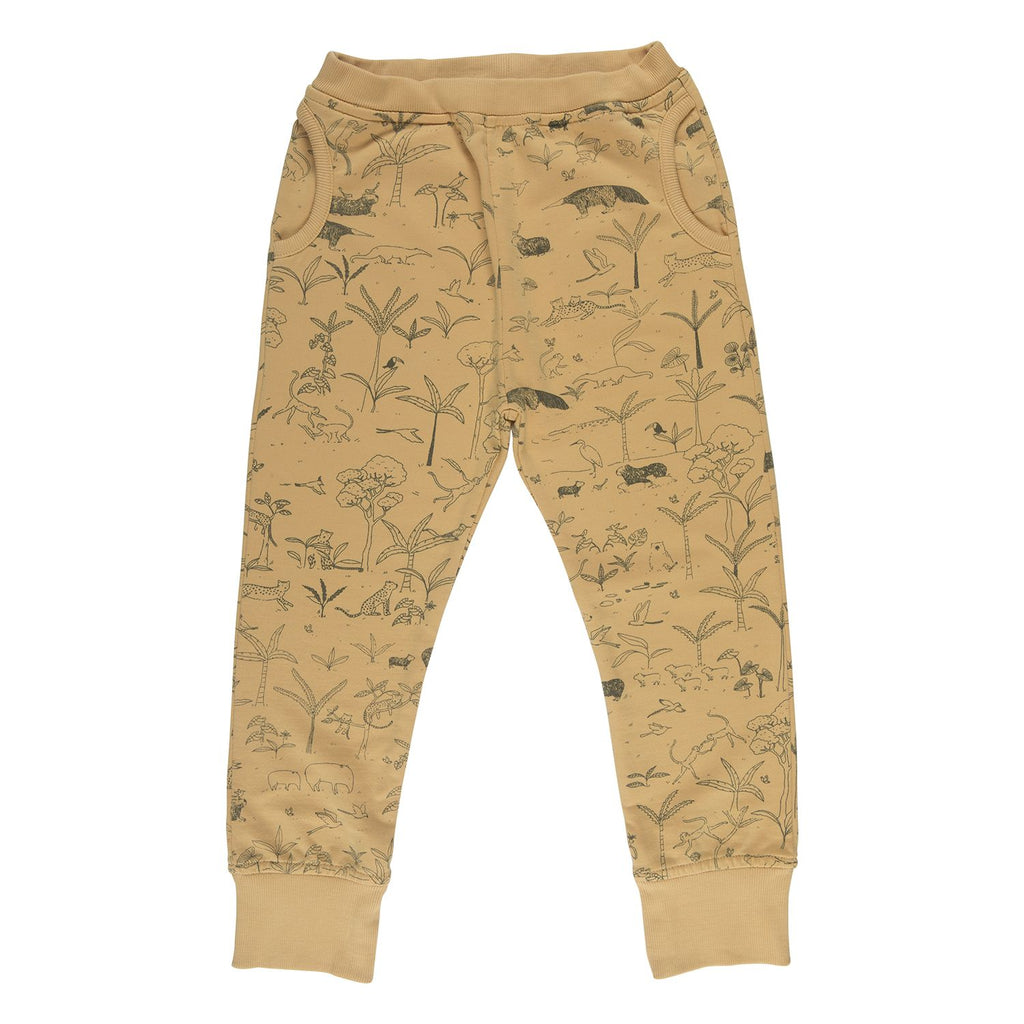 Red Caribou Joggers - The Story Ocre