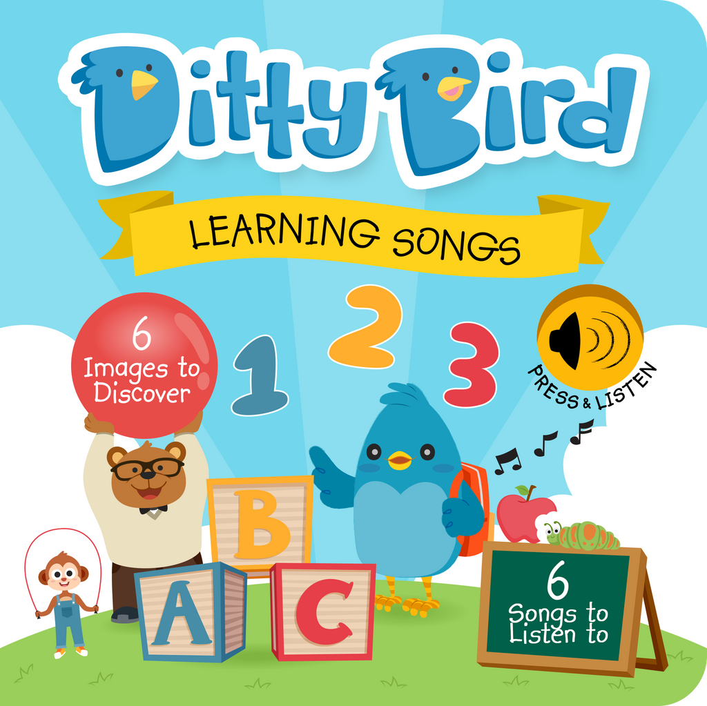 Ditty Bird Board Book - Learning Songs