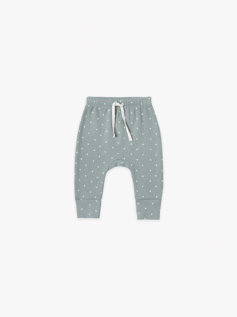 Quincy Mae Drawstring Pants - Ocean