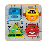 Robot Sort & Stand Up Puzzle