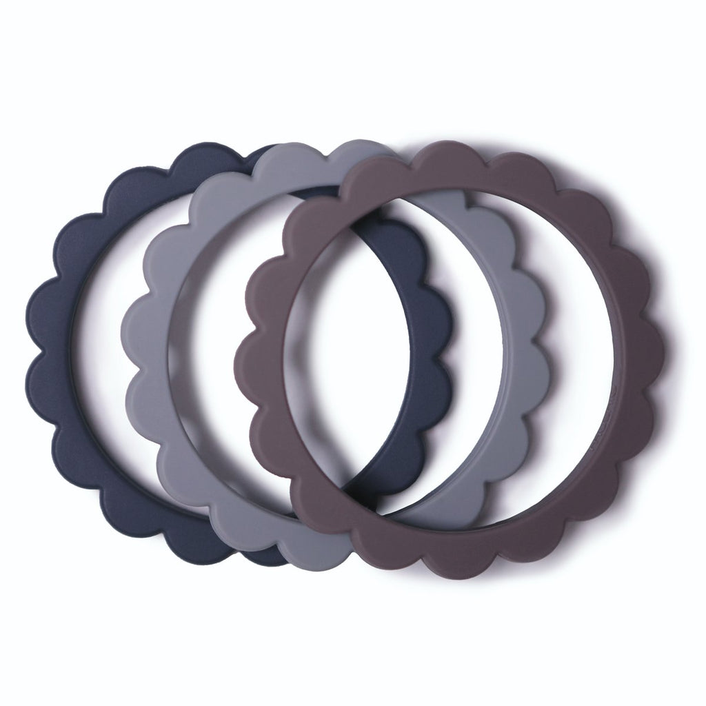 Teething Bracelets - Steel
