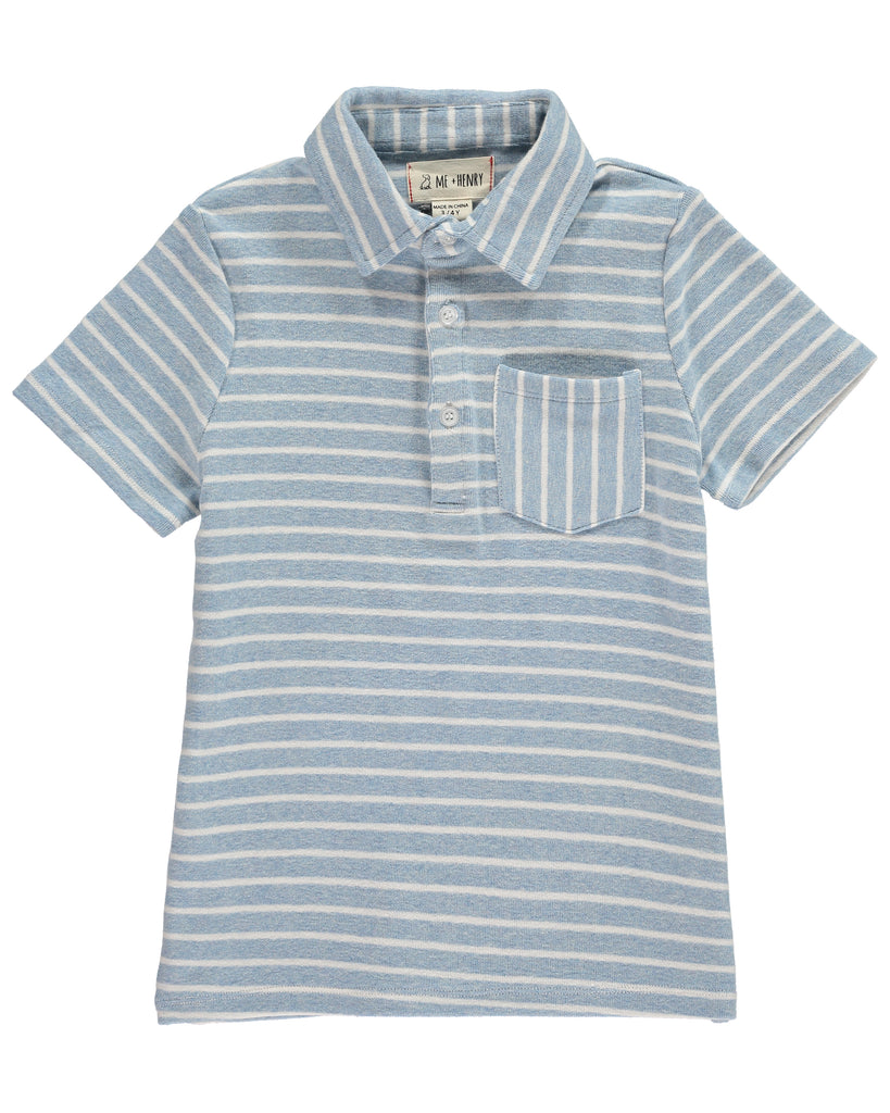 Me + Henry Stripe Polo