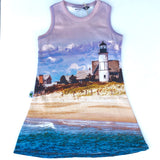 Organic Sandy Neck Lighthouse Dress