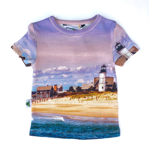 Organic Sandy Neck Lighthouse Tee