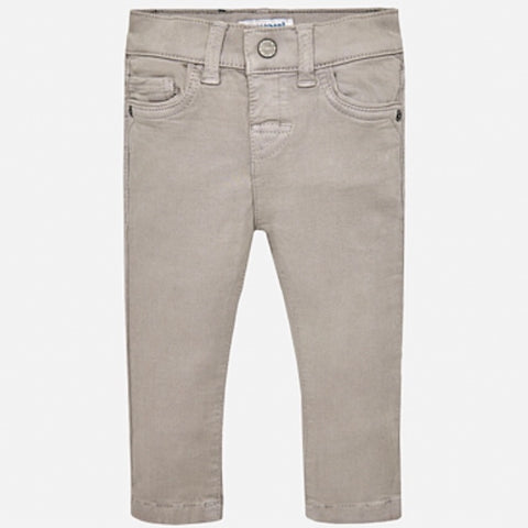 Soft Slim Cut Pants