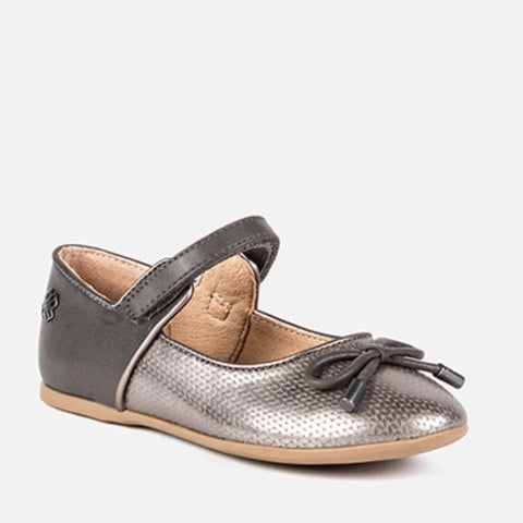 Herringbone Mary Janes