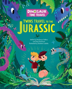Twins Travel to the Jurassic
