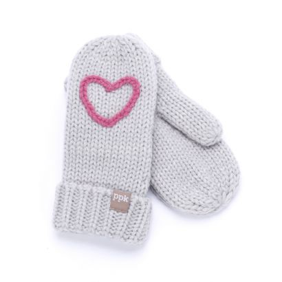 Knit Fleece Lined Mittens