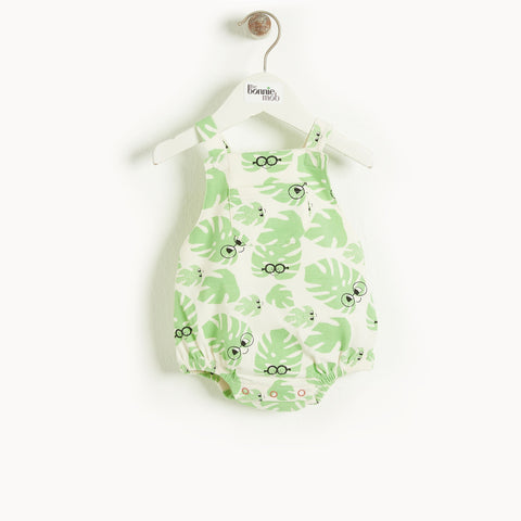 Bahama Bubble Romper - Leaf