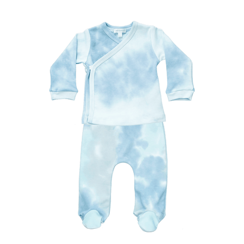 Blue Tie Dye Take Me Home Set