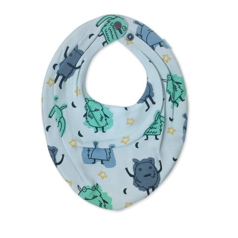 Organic Monster Bandana Bib