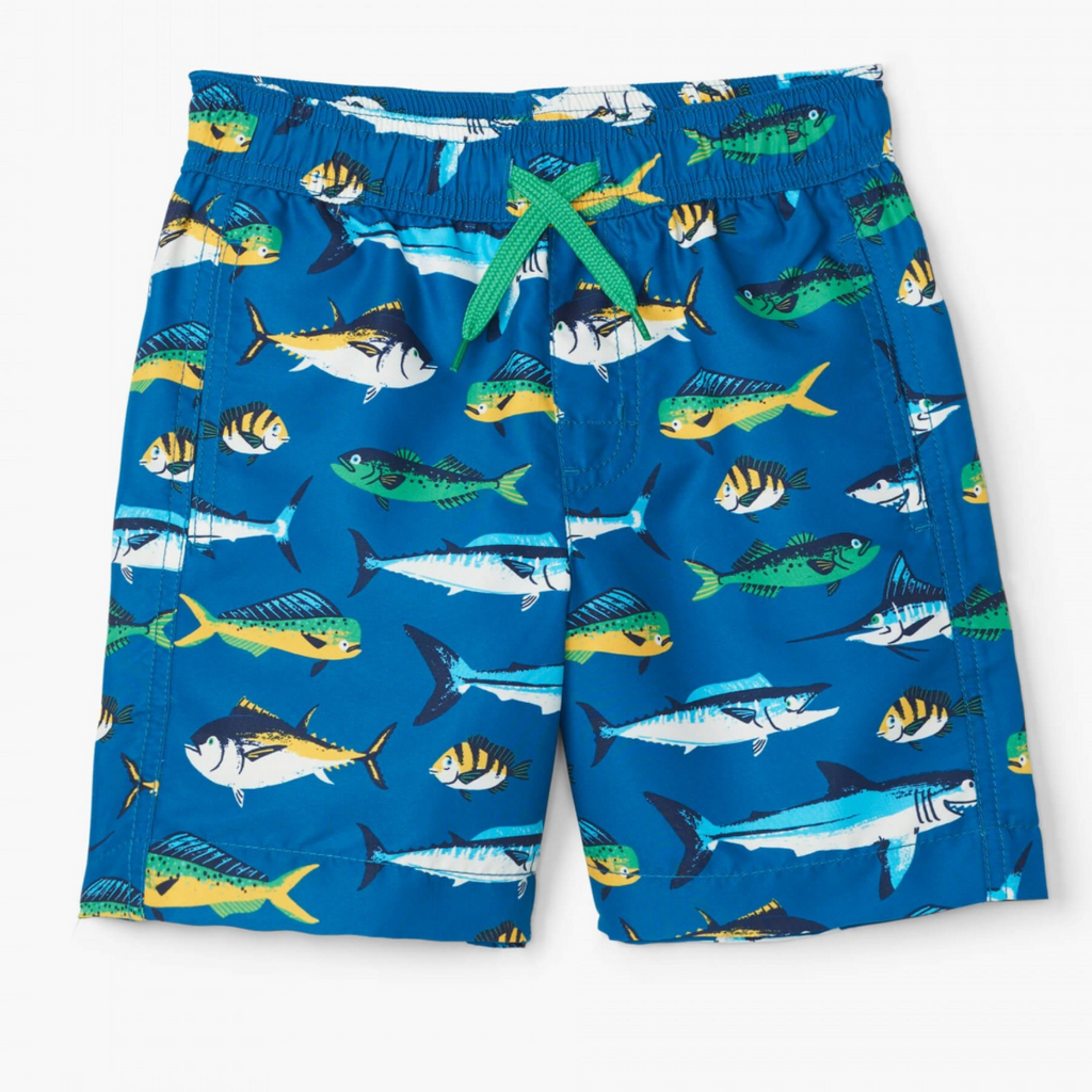 Game Fish Swim Trunks