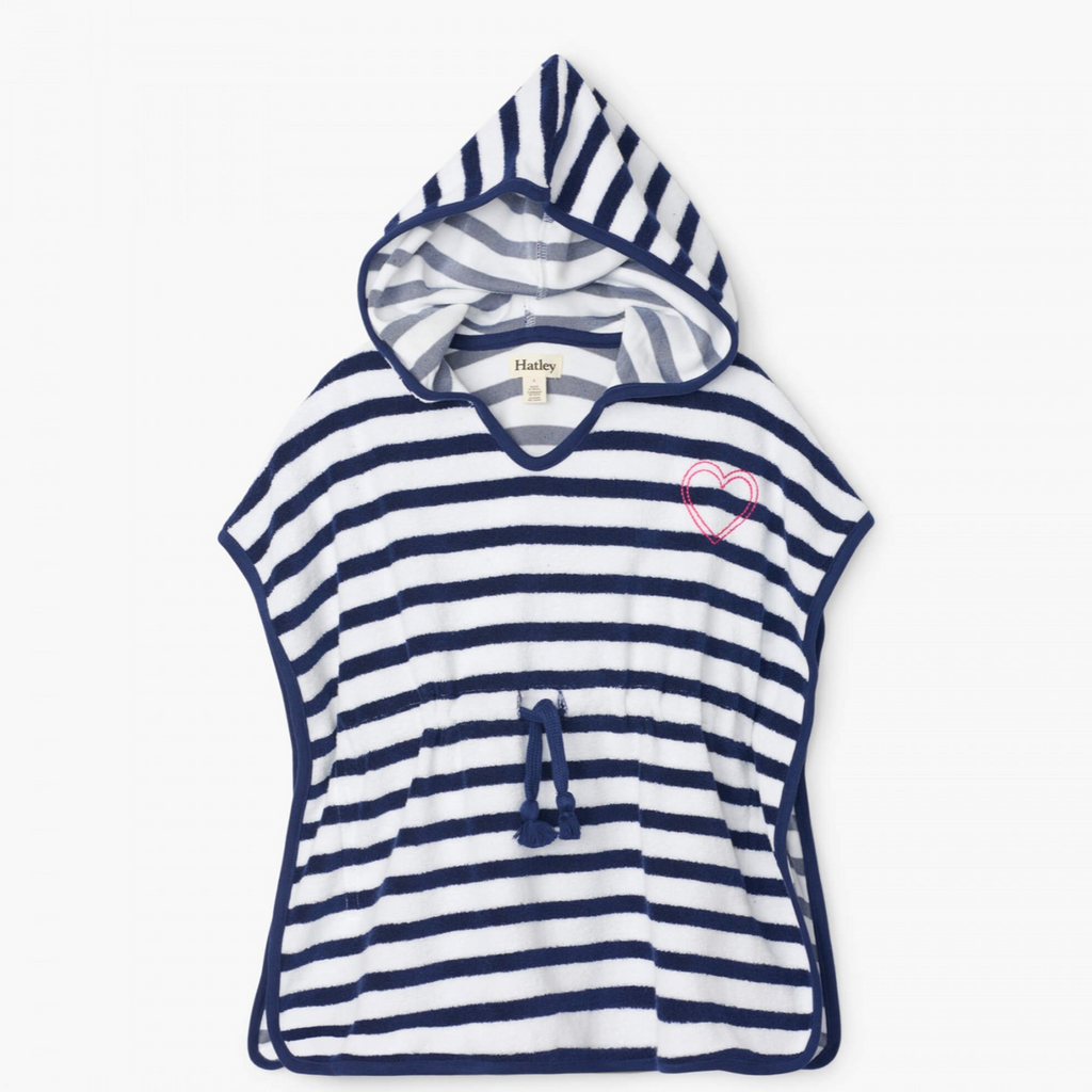 Nautical Stripe Terry Cover-Up