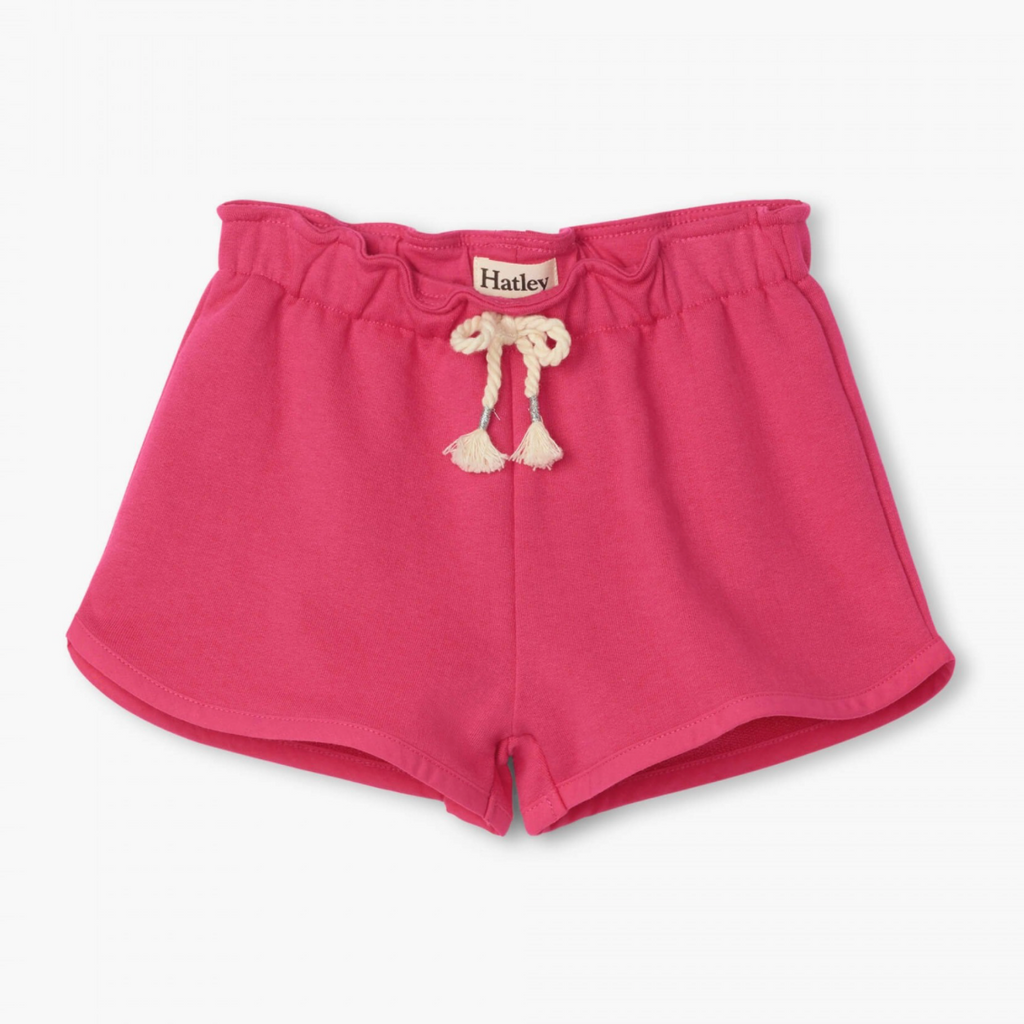 Paper Bag Shorts - Fuchsia