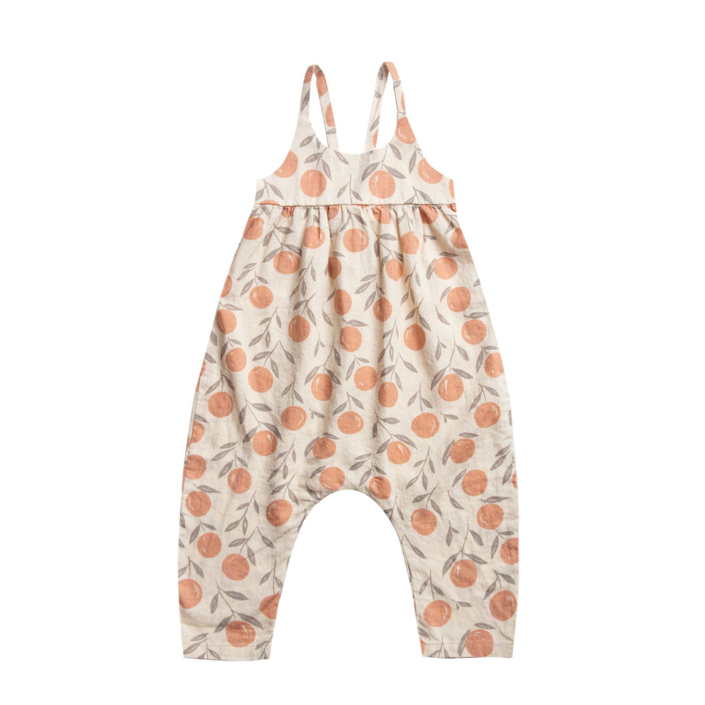 Rylee + Cru Throwback Gigi Jumpsuit - Peaches